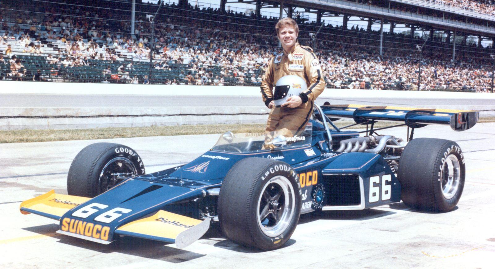 Mark Donohue og Penske Racing vant 1972 Indianapolis 500 Foto: Indianapolis Motor Speedway