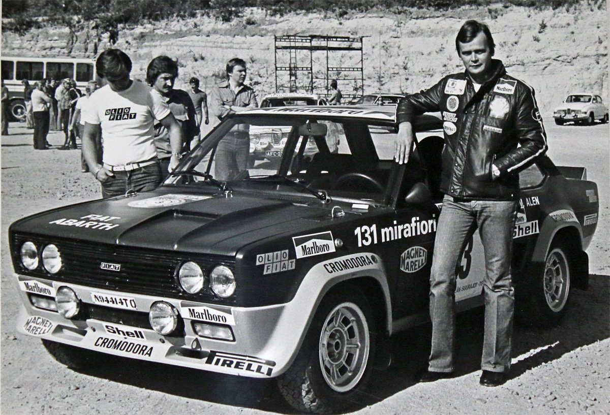 Markku var Fiat-teamets store stjerne på sent syttitall, og viste alltid hurtig tempo i sin Abarth 131 Mirafiori.