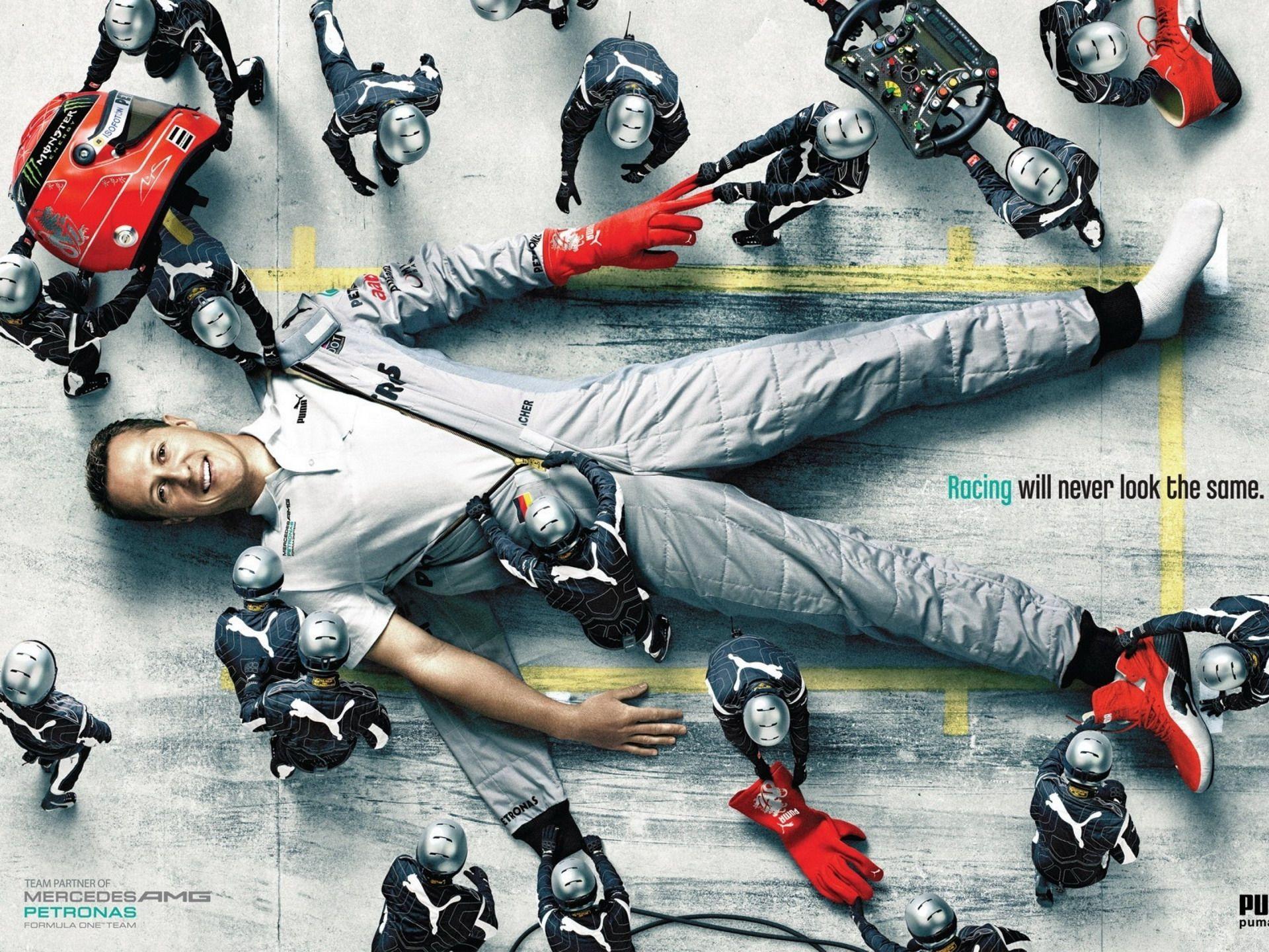 Michael Schumacher: En legende som i dag kjemper sitt livs tøffeste kamp.