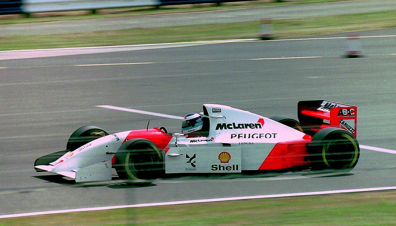 Mika Häkkinen ble McLaren-teamets nye håp da han ble fører på fulltid for teamet i 1994. Foto: Wikipedia