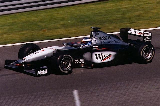 Mika Häkkinen i Canada GP i 1999, året da han tok sin andre VM-tittel. Foto: Wikipedia