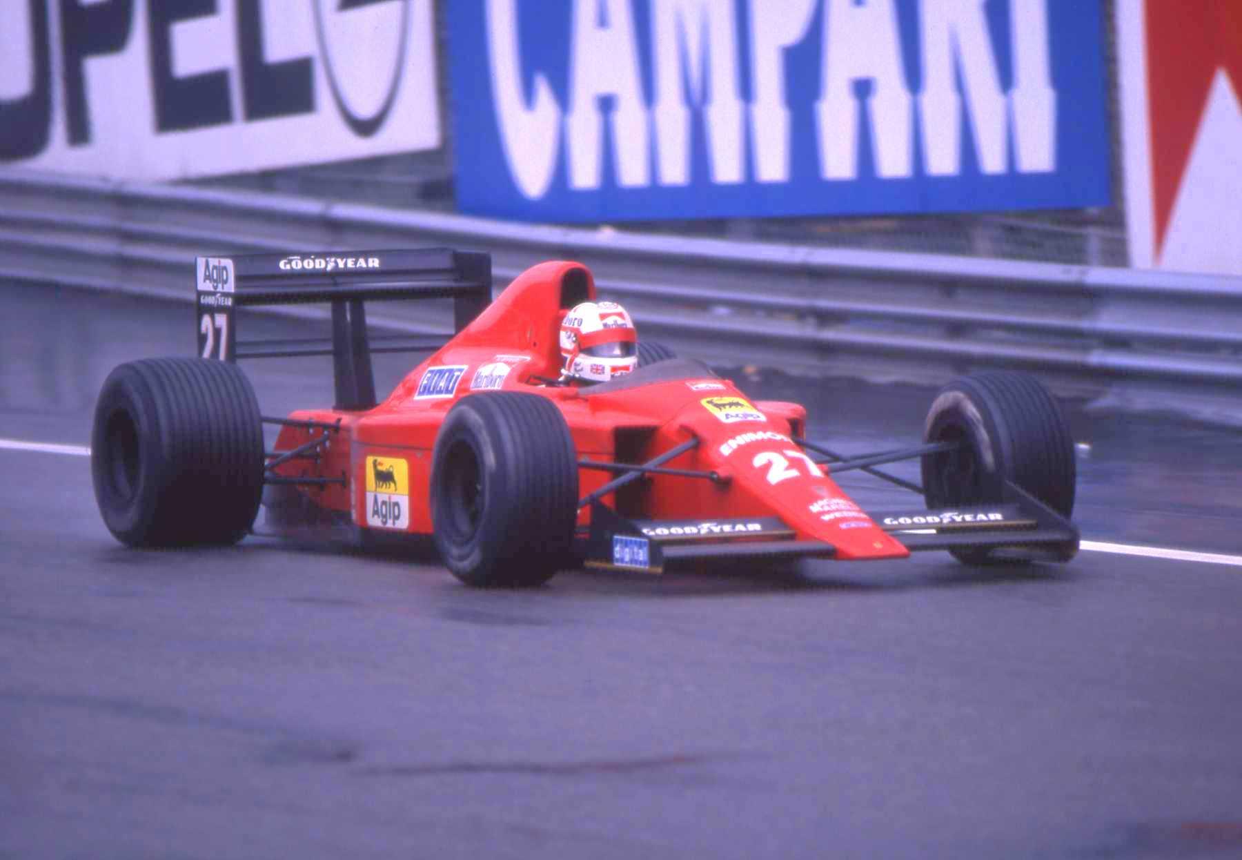 Mansell ble folkehelt i Italia for sin gi-alt kjøring i 1989 og 1990, men samarbeidet fungerte dårlig da Alain Prost kom inn i teamet i stedet for Gerhard Berger.