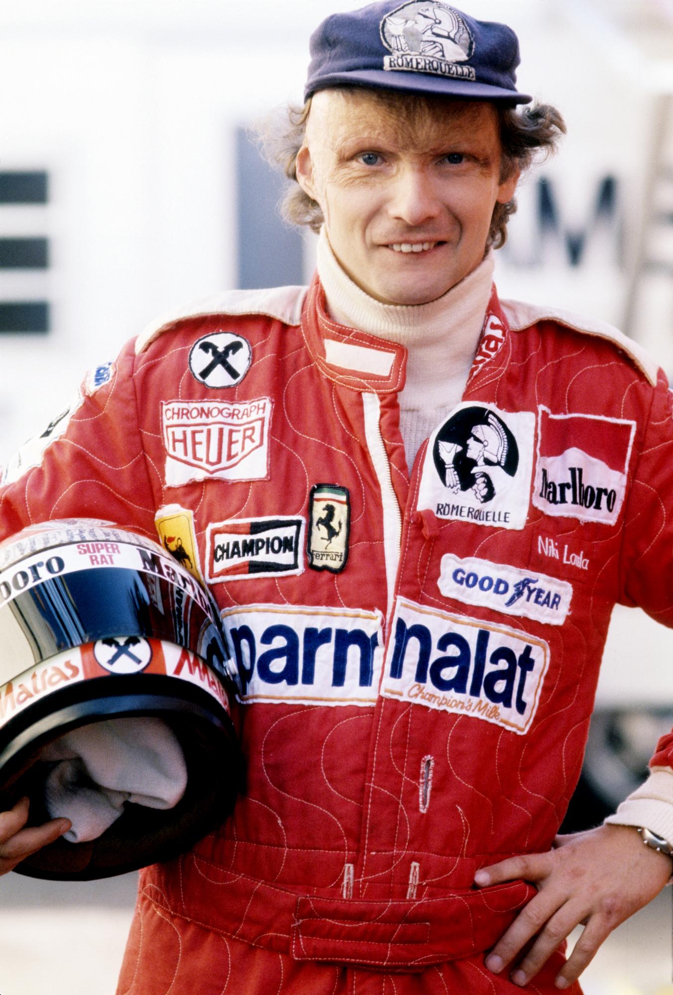 Niki Lauda. En av Formel 1 sportens aller største legender. Foto: Ferrari