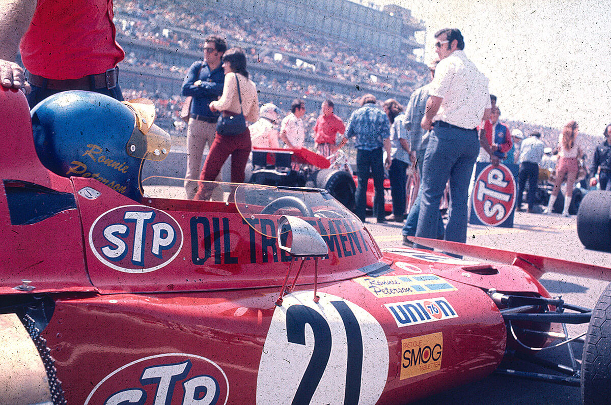 Ronnie slo gjennom allerede i sin første fulle Formel 1-sesong i 1971 for March-teamet.