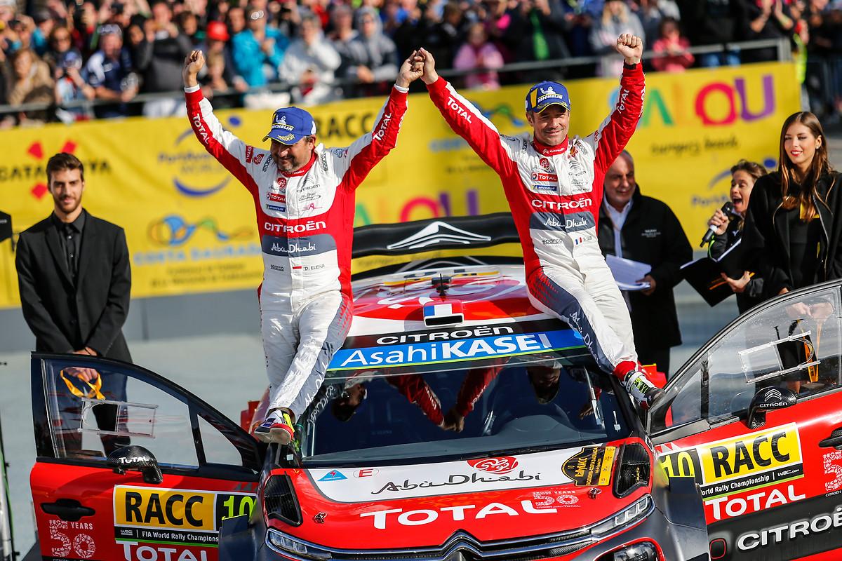 Loeb tok en sensasjonell seier i Catalunya Rally 2018, 44 år gammel. Han så fortsatt like pigg ut som i velmaktsdagene, mens hans trofaste kartleser Daniel Elena hadde lagt ut livmidjen en del.