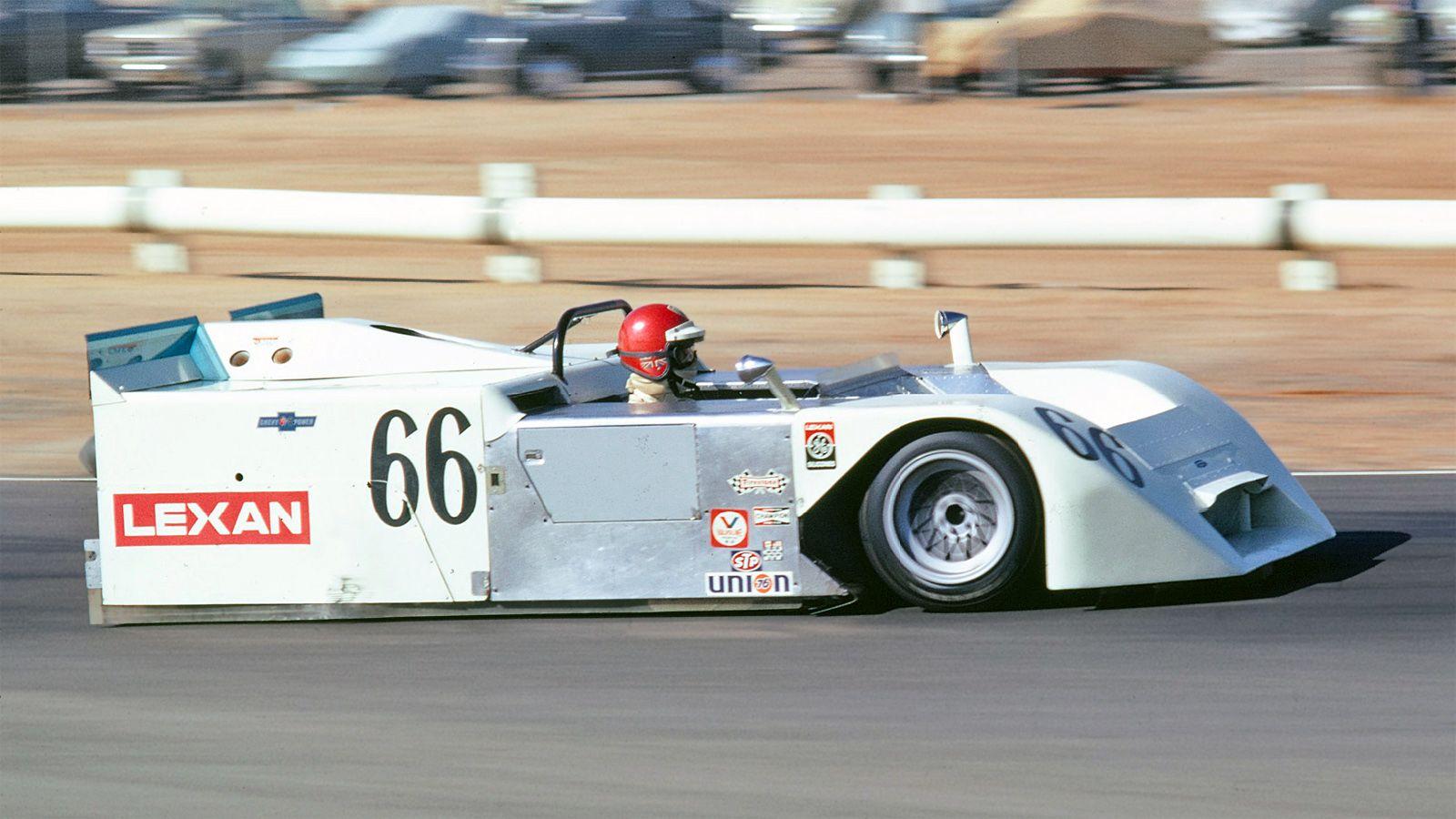 Vic Elford i den sensasjonelle Chaparral 2J, som forbløffet en hel racingverden i 1970.
