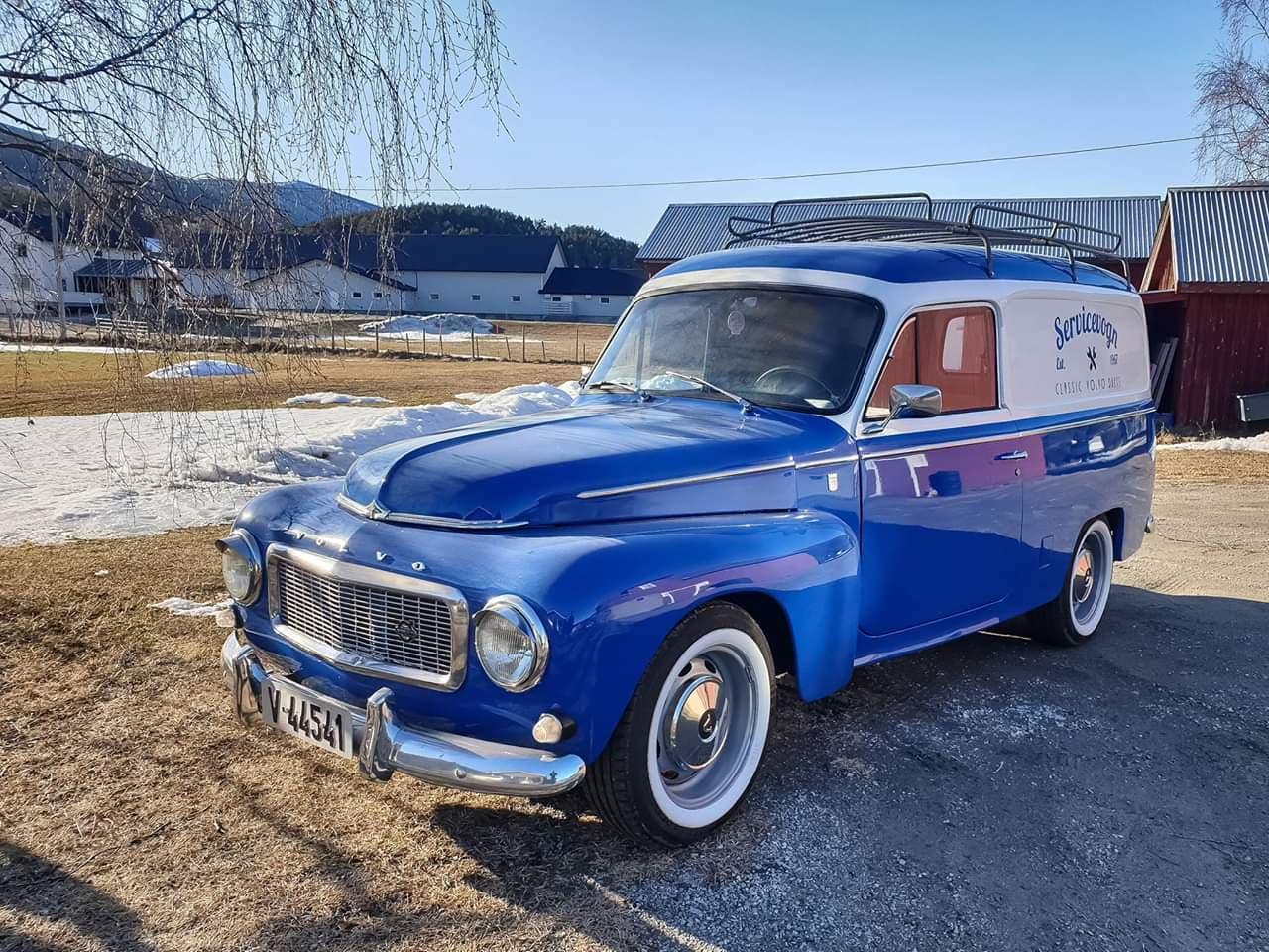 Ukas bil – 1967 Volvo Duett