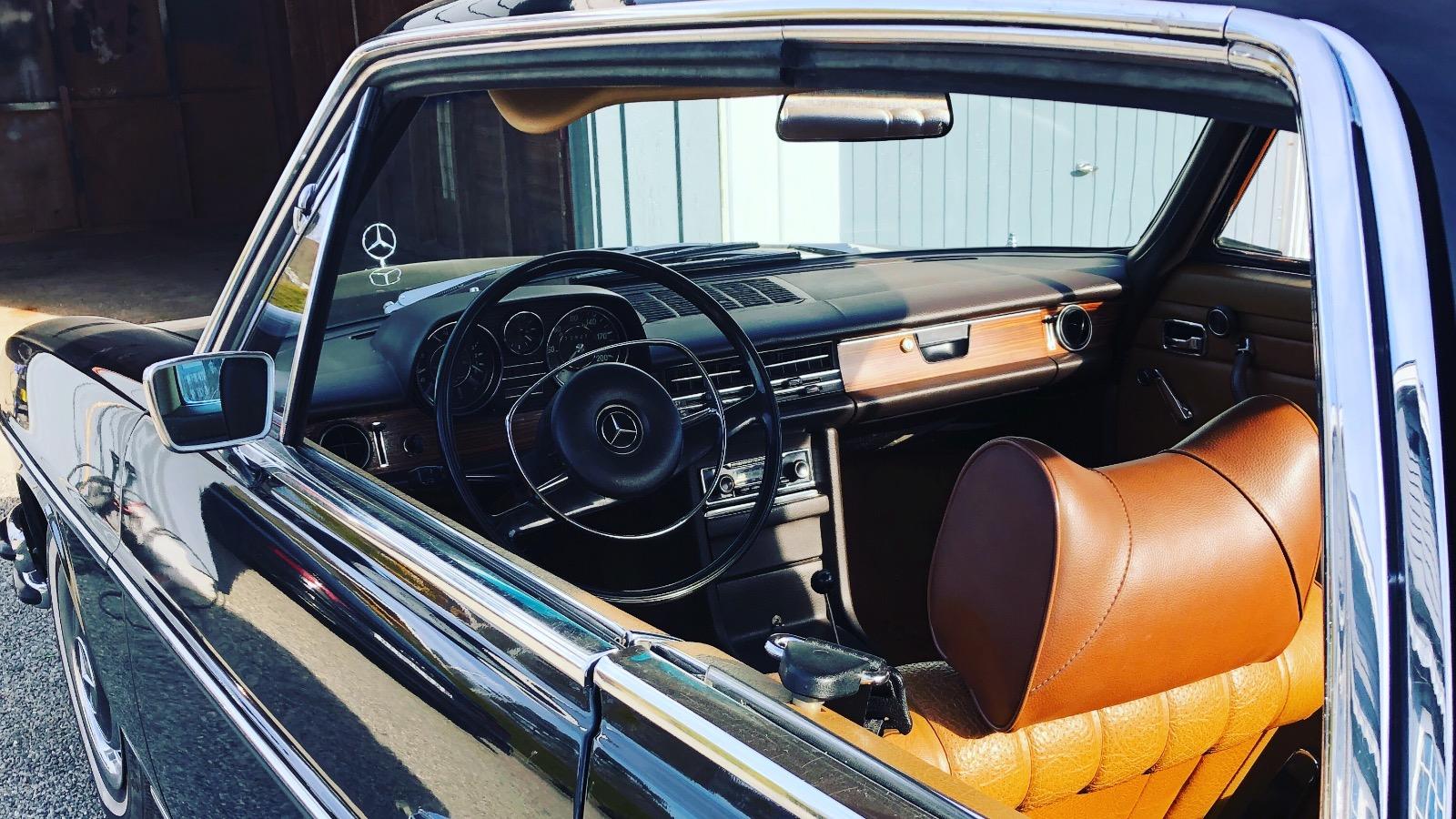 Ukas bil: 1969 Mercedes-Benz 250C