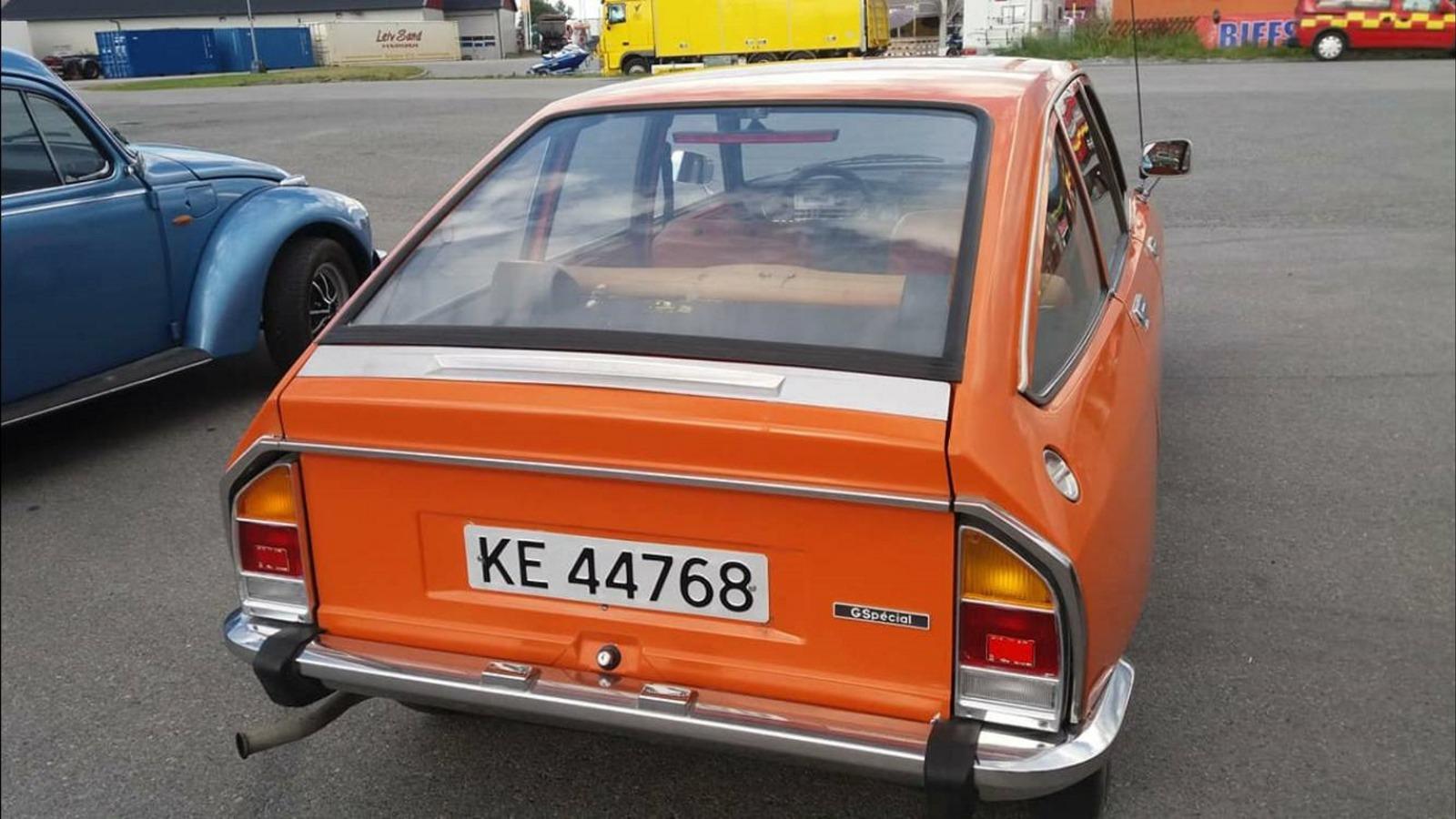 Ukas bil - 1976 Citroën GSpecial
