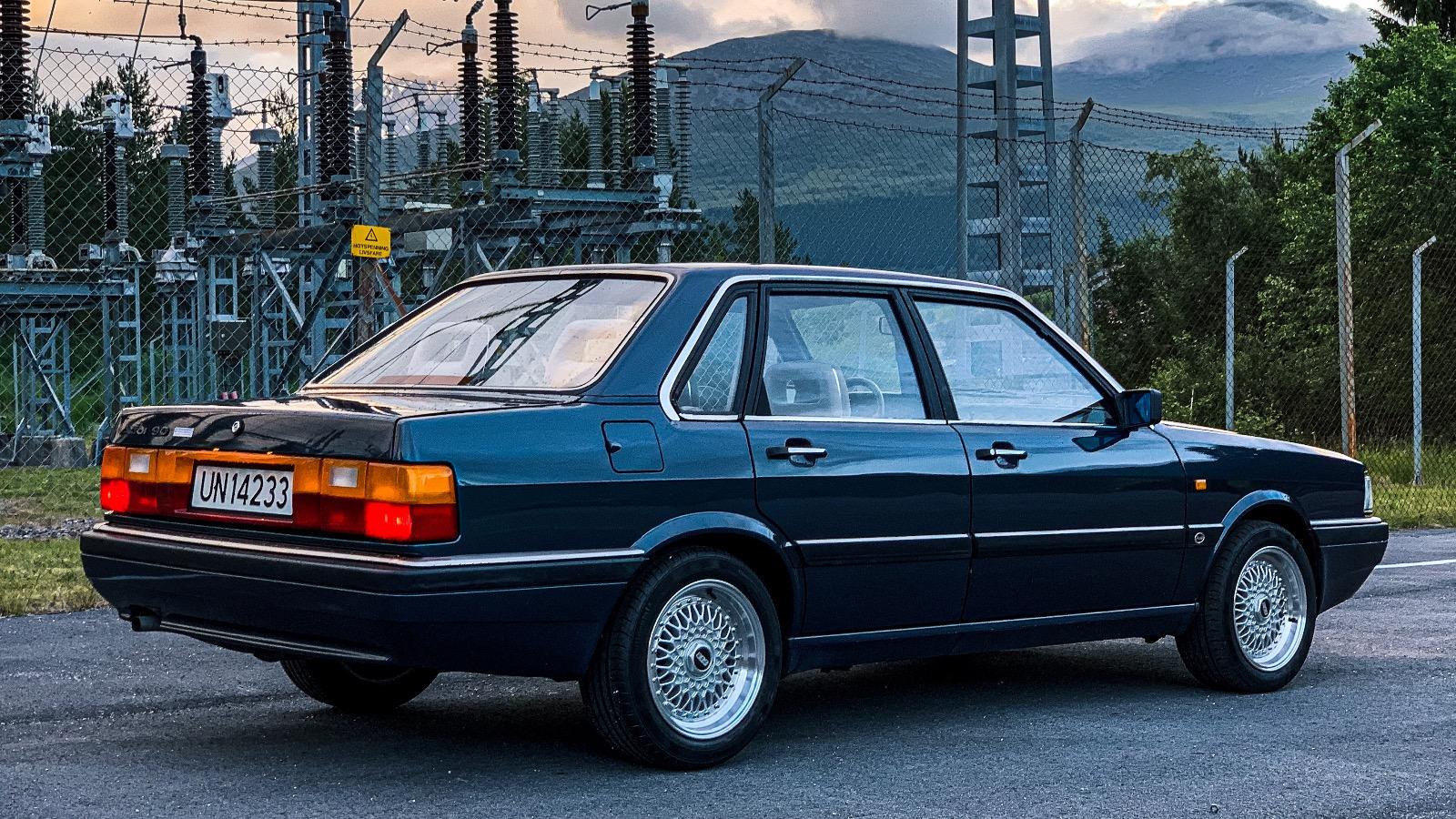 Ukas Bil: 1985 Audi 90