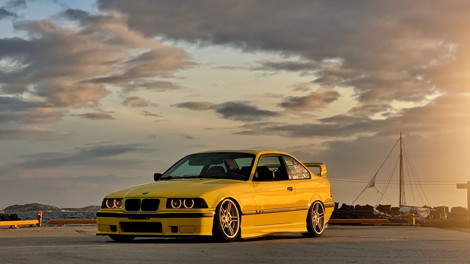 Ukas bil - 1997 BMW 318IS E36