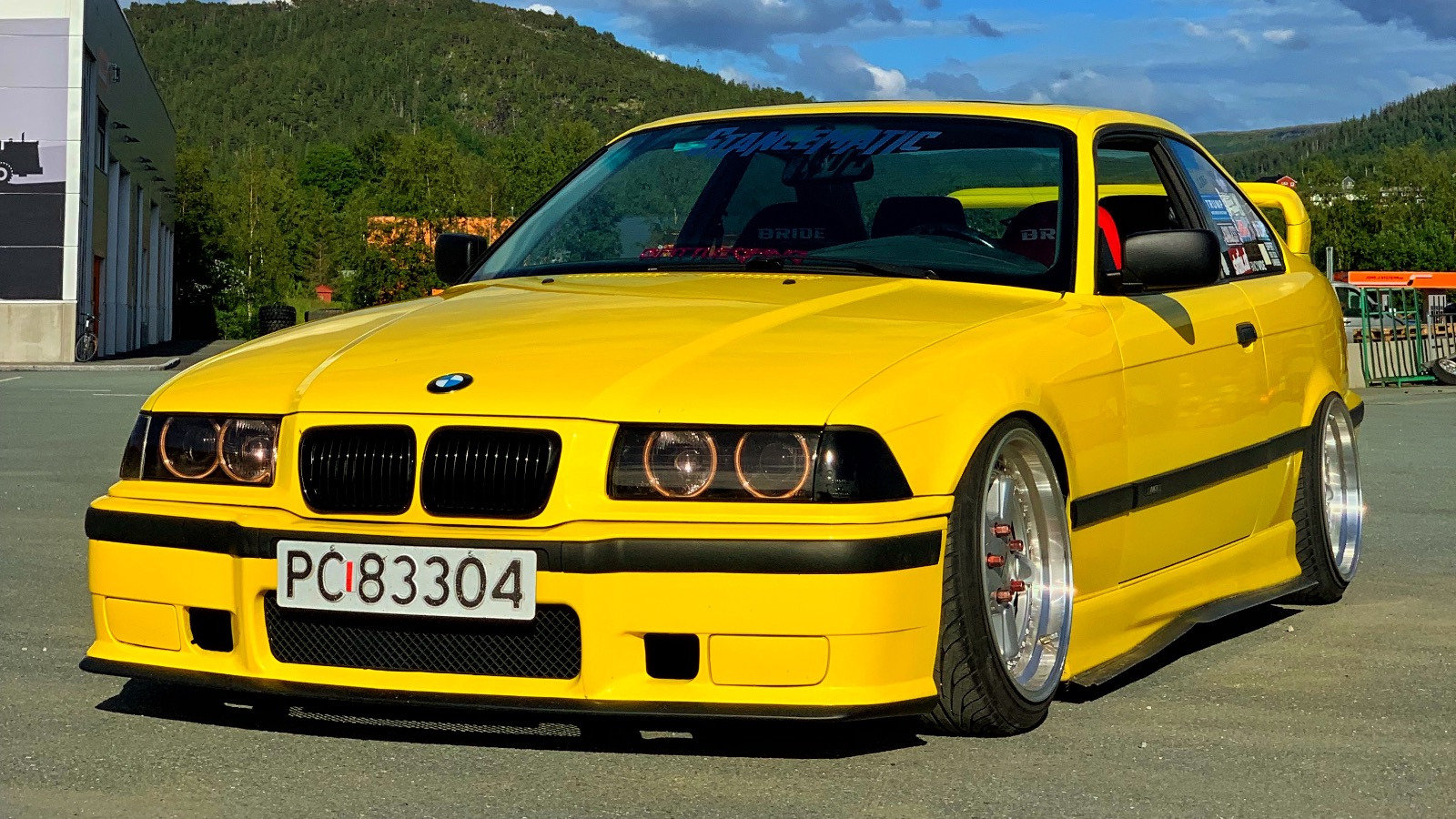 Ukas bil - 1997 BMW 318IS E36