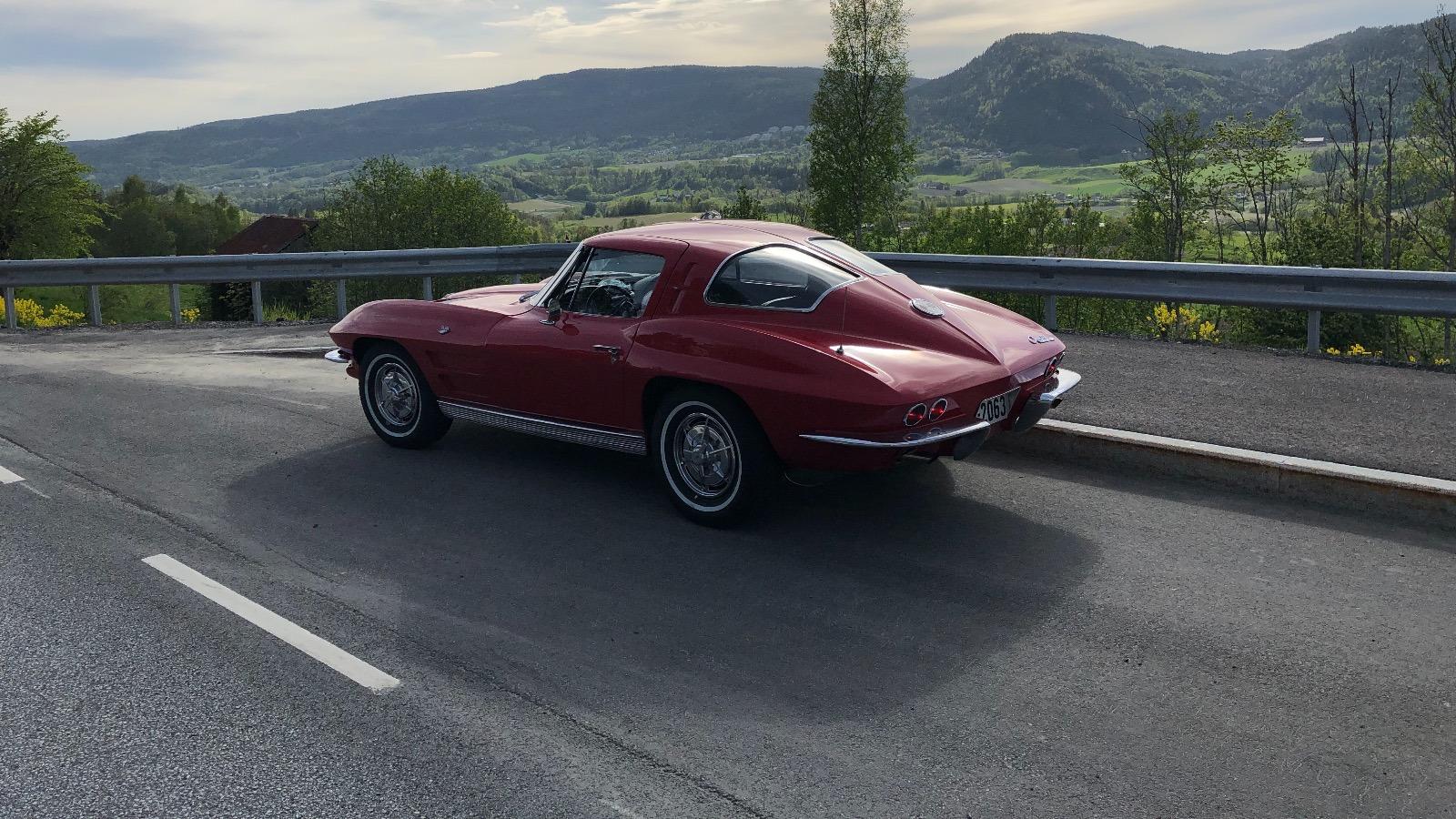 Ukas bil - 1963 Chevrolet Corvette