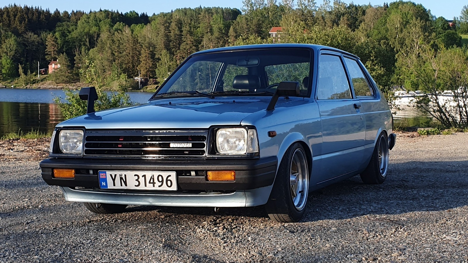 Ukas bil: 1984 Toyota Starlet KP61