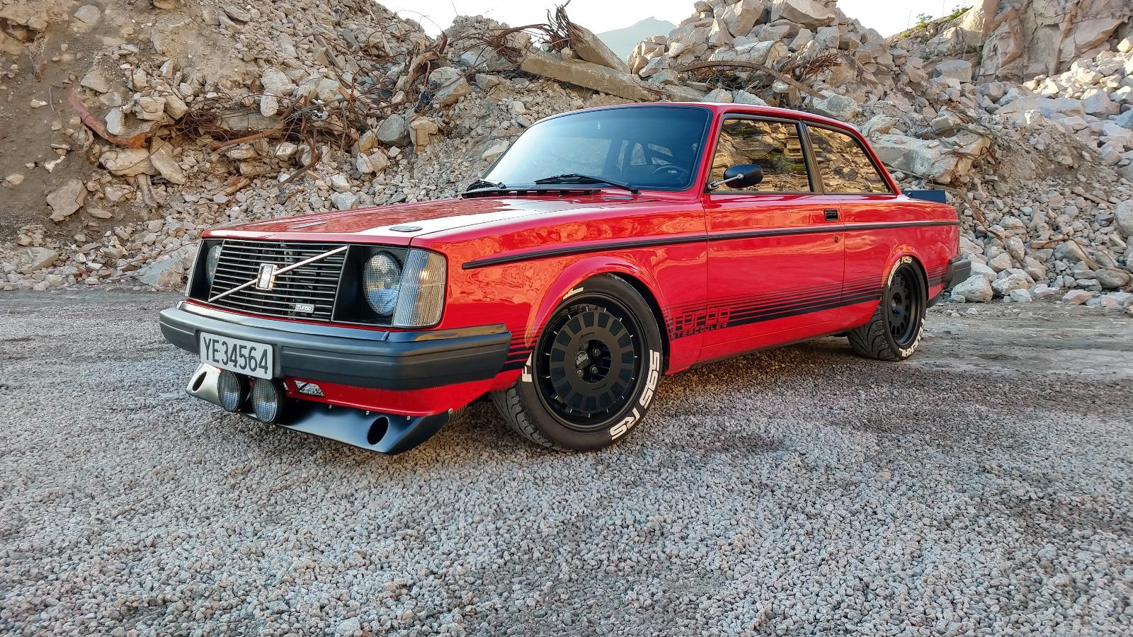 Ukas bil - Volvo 240 Turbo