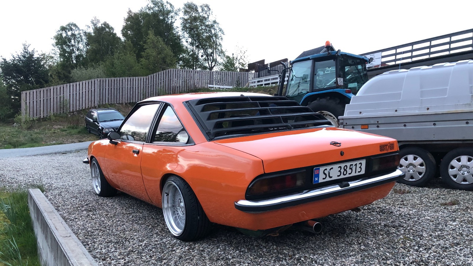 Ukas bil - Opel Manta B Turbo