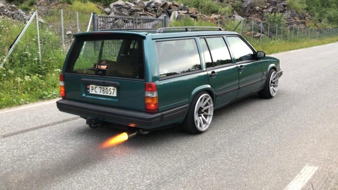 Ukas bil - 1995 Volvo 940 Turbo