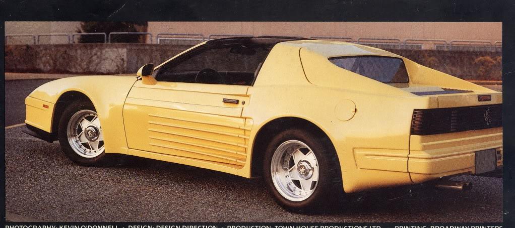 Ferrari Testarossa er kanskje 80-tallets mest ikoniske bil, og det ble laget mengder av bodykits som passet til rimeligere biler, for å etterligne Testarossaen. Også Pontiac Firebird kunne få Testarossa bodykit. Det finnes neppe mange slike igjen i dag, så her snakker vi kultobjekt for den som vil ha noe veldig annerledes.
