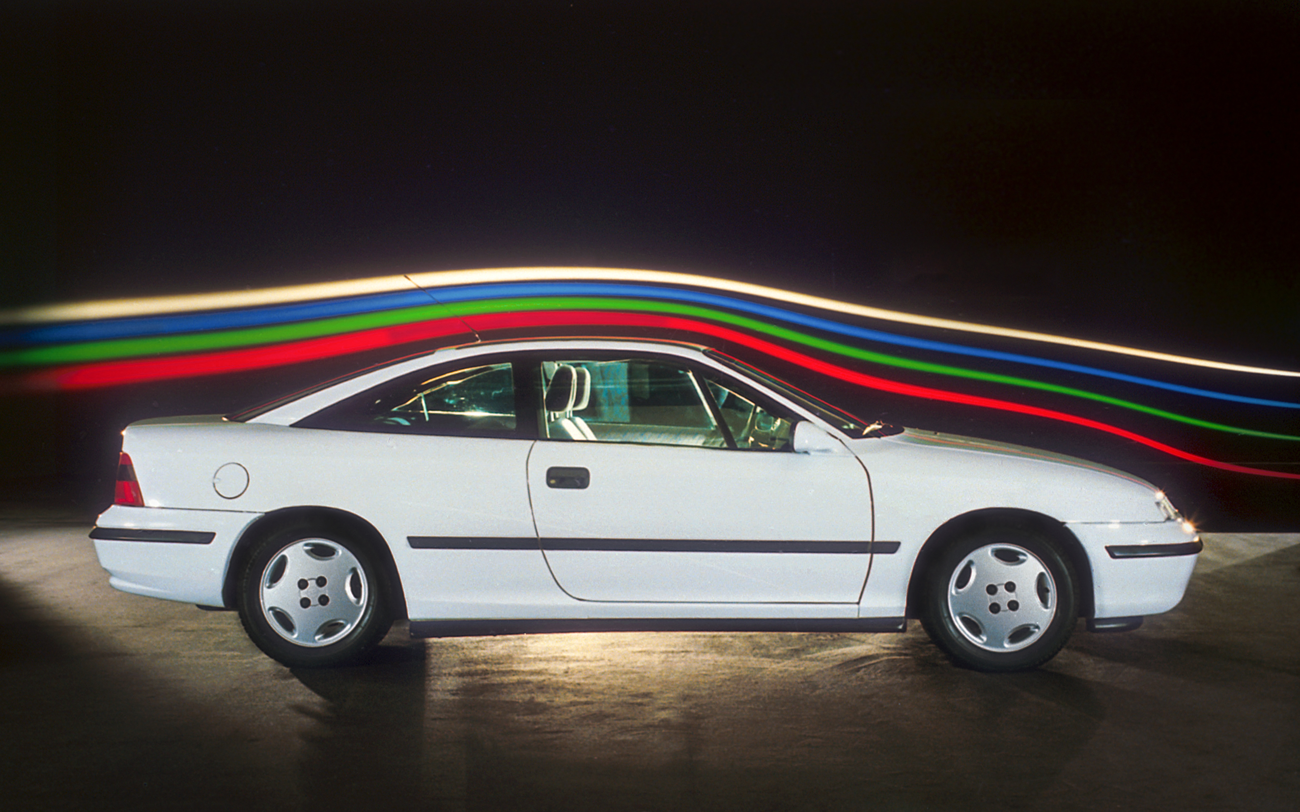Opel Calibra hadde de beste målingene på luftmotstand i ti år.