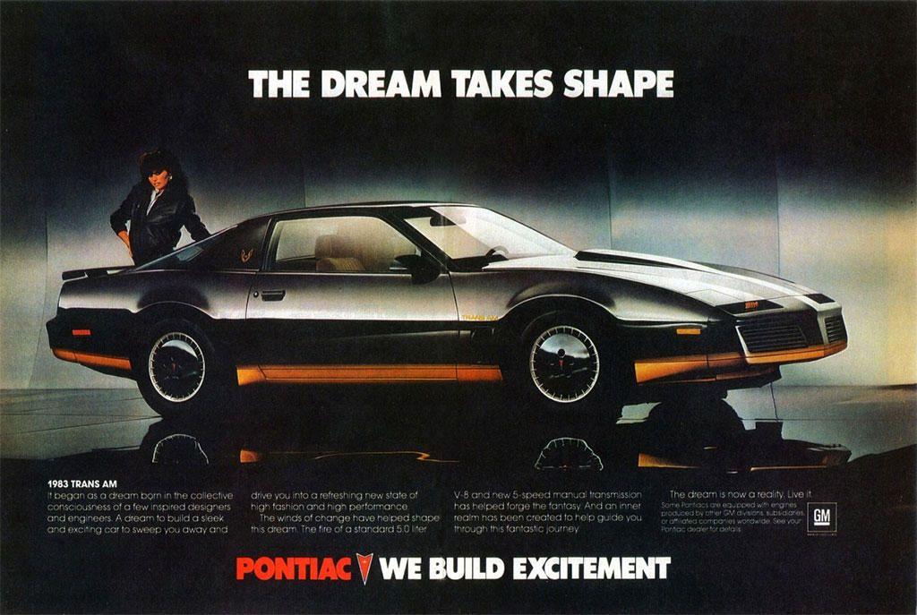 Pontiac bygde «excitement» i de dager, noe den nye Firebird var et synlig bevis på.