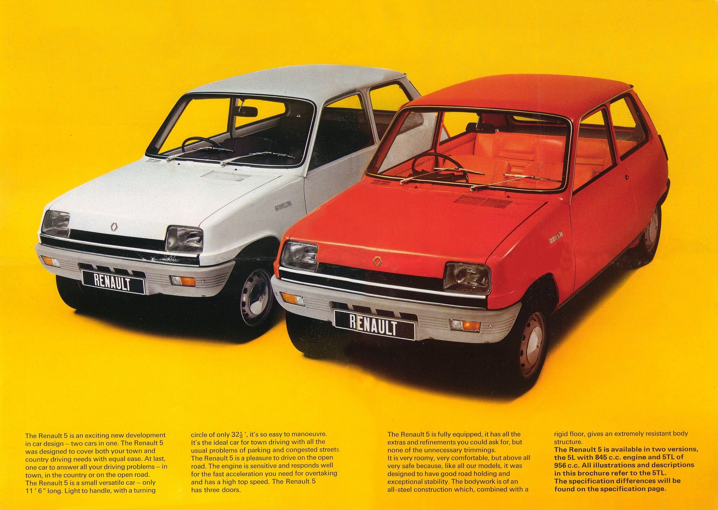 Hvit eller rød? Spiller ingen rolle. Renault 5 ser svært så harmonisk ut uansett.