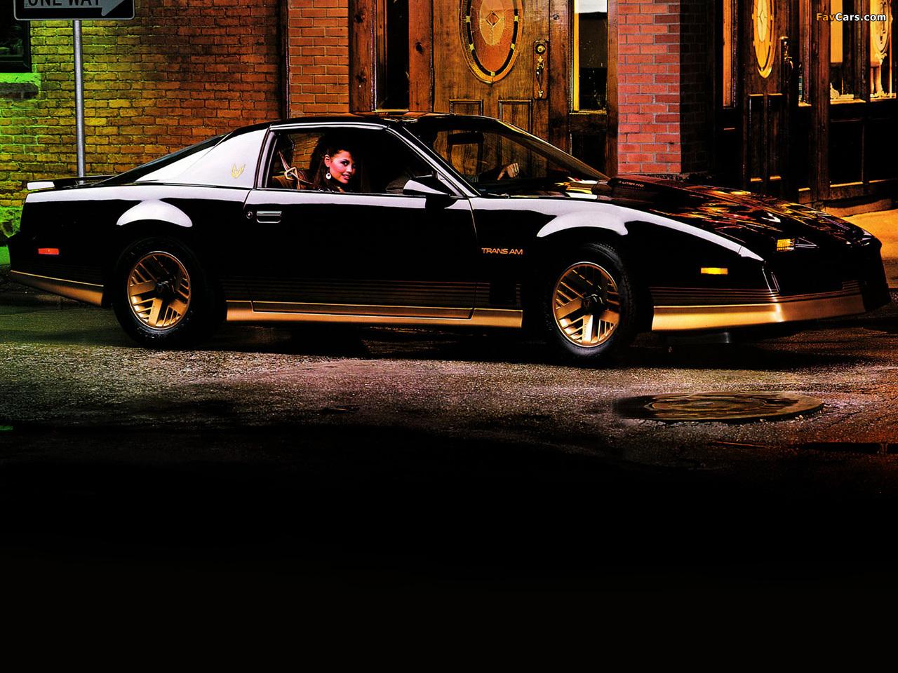 Tøff ungdomsbil til rimelig penge: Pontiac Firebird (1982-1992)