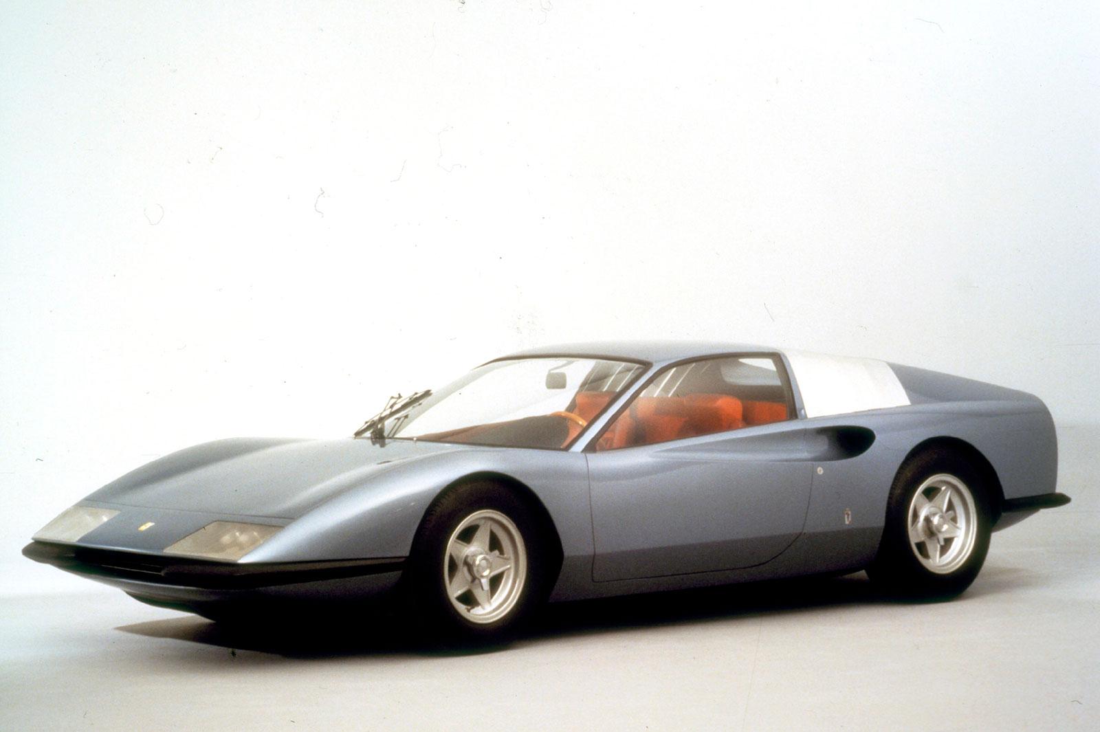Ferrari P6 Berlinetta Speciale Coupe fra 1968 ble ikke mer enn ett konsept.