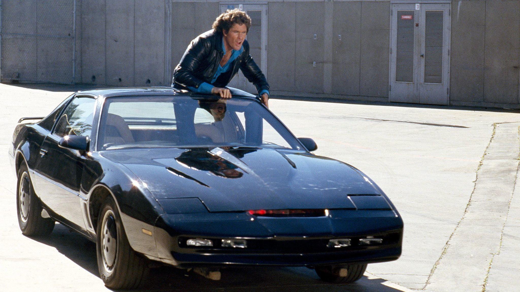 David Hasselhoff sin supersmarte KITT ble stjerner i TV-serien «Knight Rider».