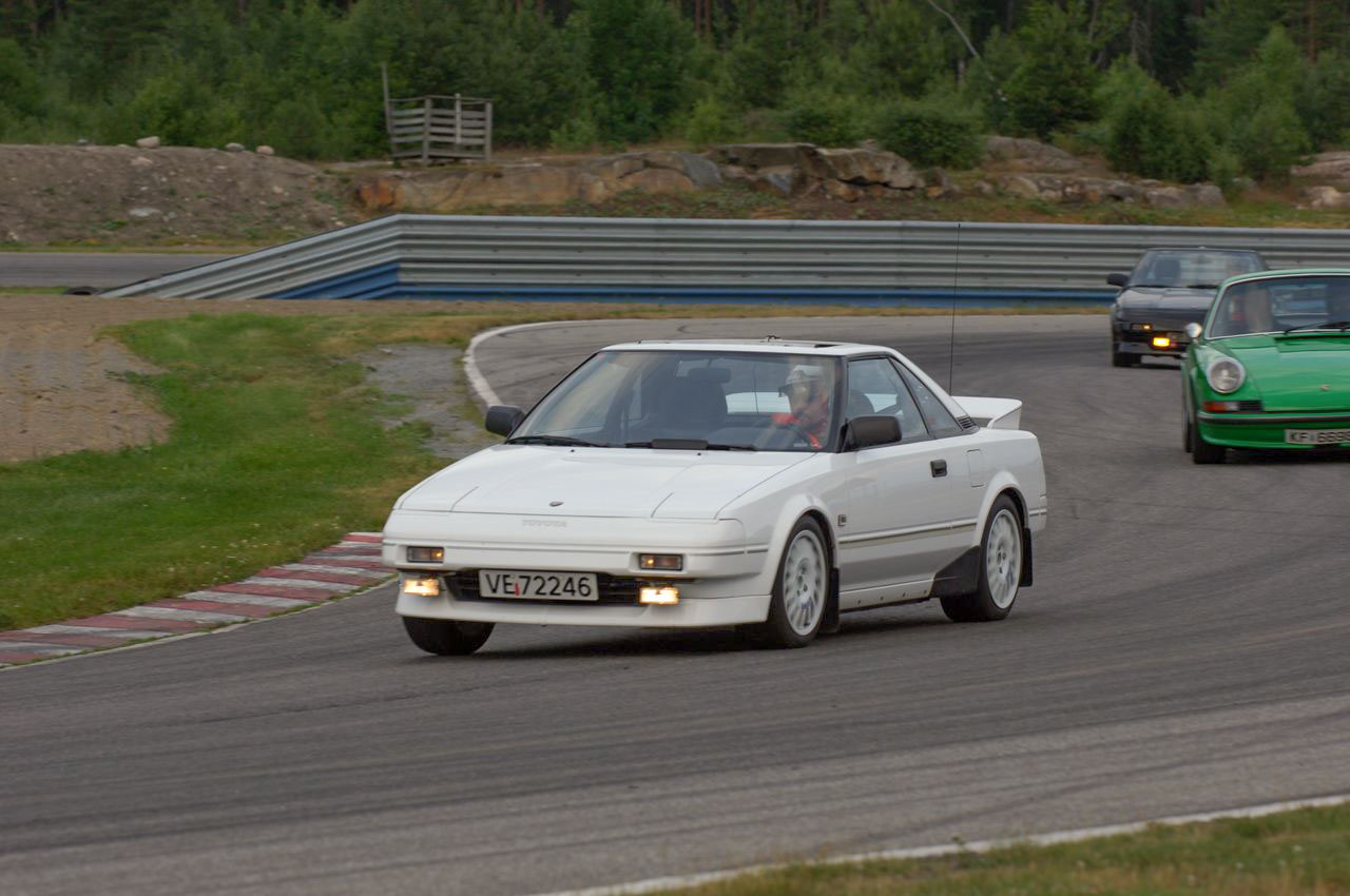Banekjøring var en av grunnene til at Inge skaffet seg denne bilen.