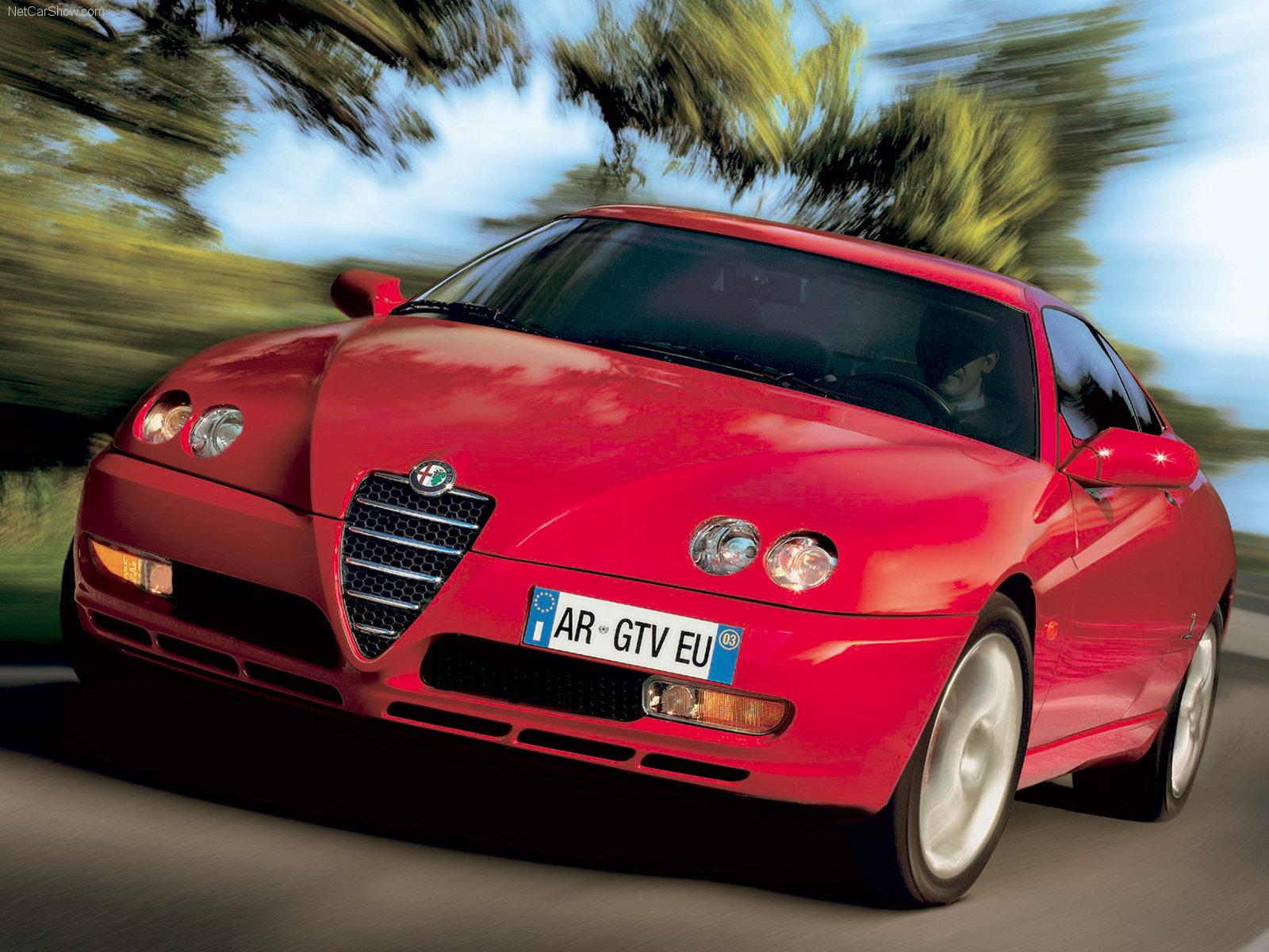 10 Sportsbiler på budsjett - Alfa Romeo GTV