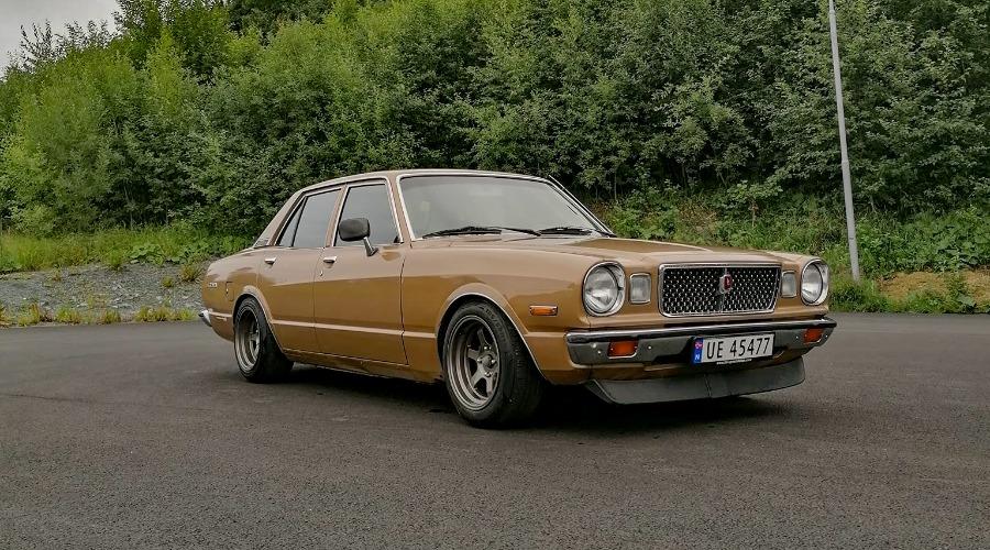 Ukas bil – 1977 Toyota Cressida