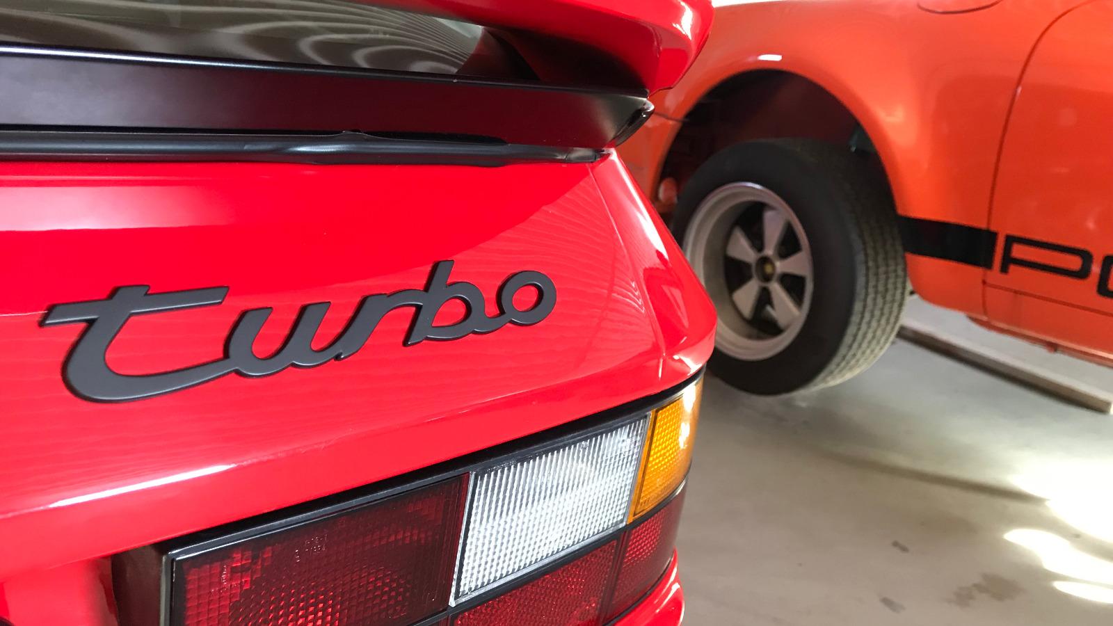 Bilen er ombygd fra S til Turbo