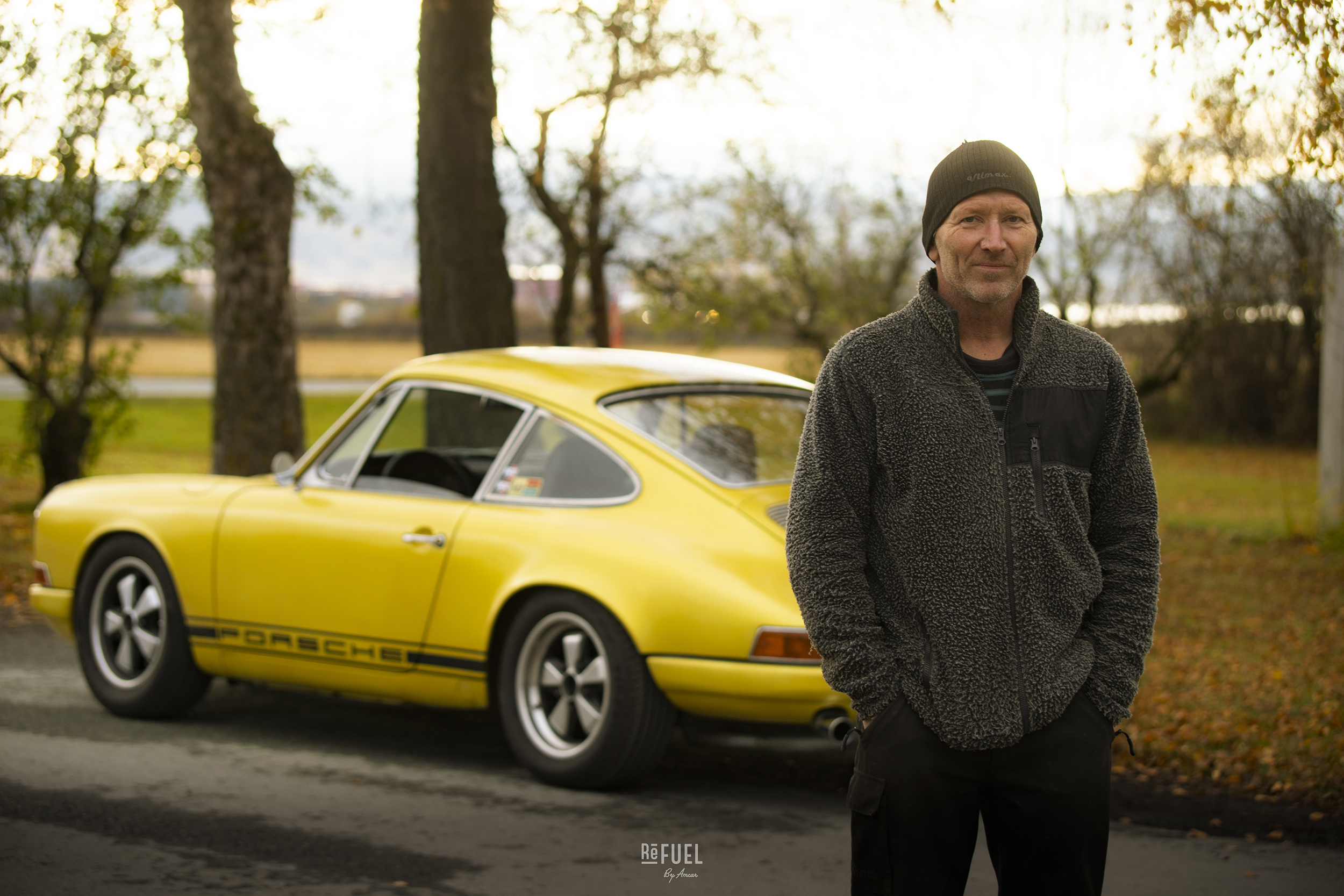 Geir Natvig fra Verdal har bygget denne 912en fra så å si ingenting.