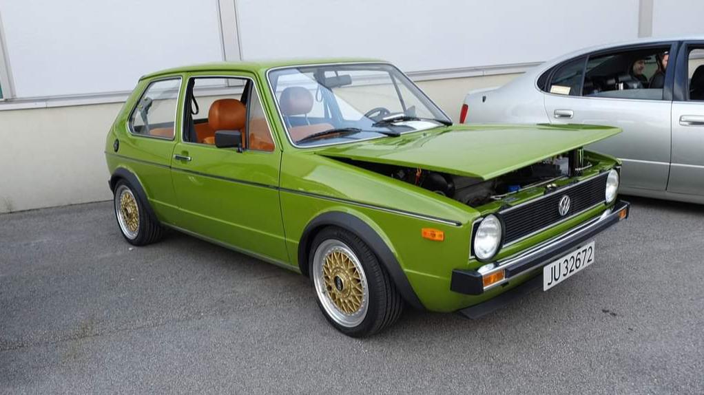 Ukas bil – 1976 Volkswagen Golf Mk1