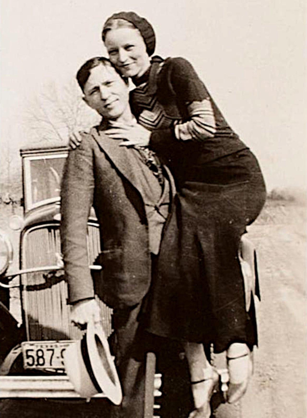 Clyde Chestnut Barrow og Bonnie Elizabeth Parker