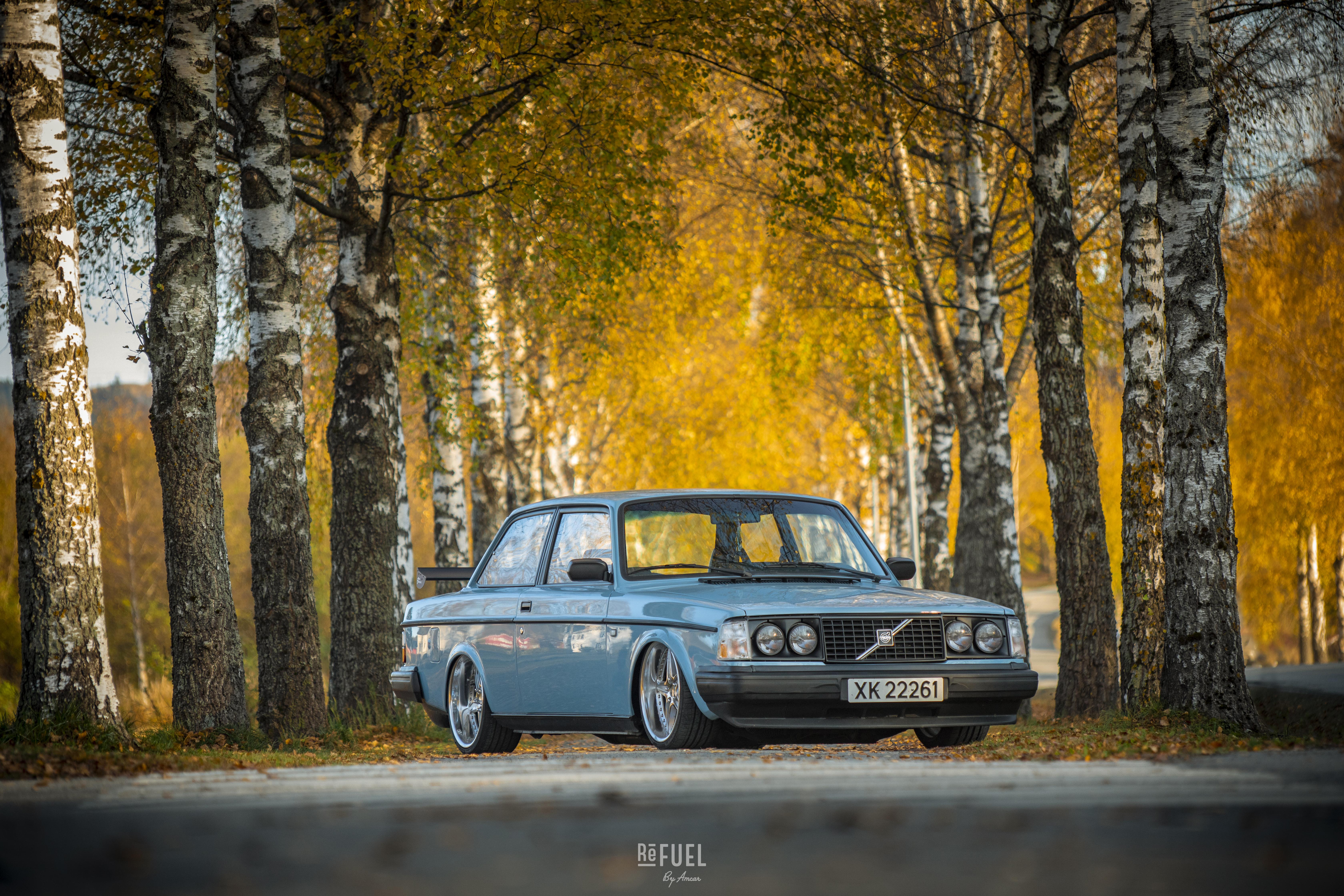 1983 Volvo 242, så stilig som man får det!