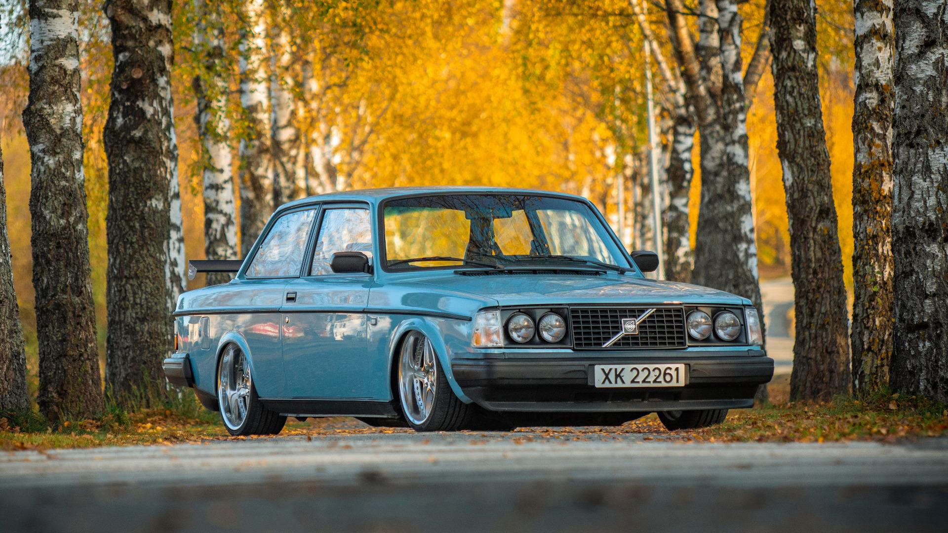 Rånebil, full av stil – 1983 Volvo 242