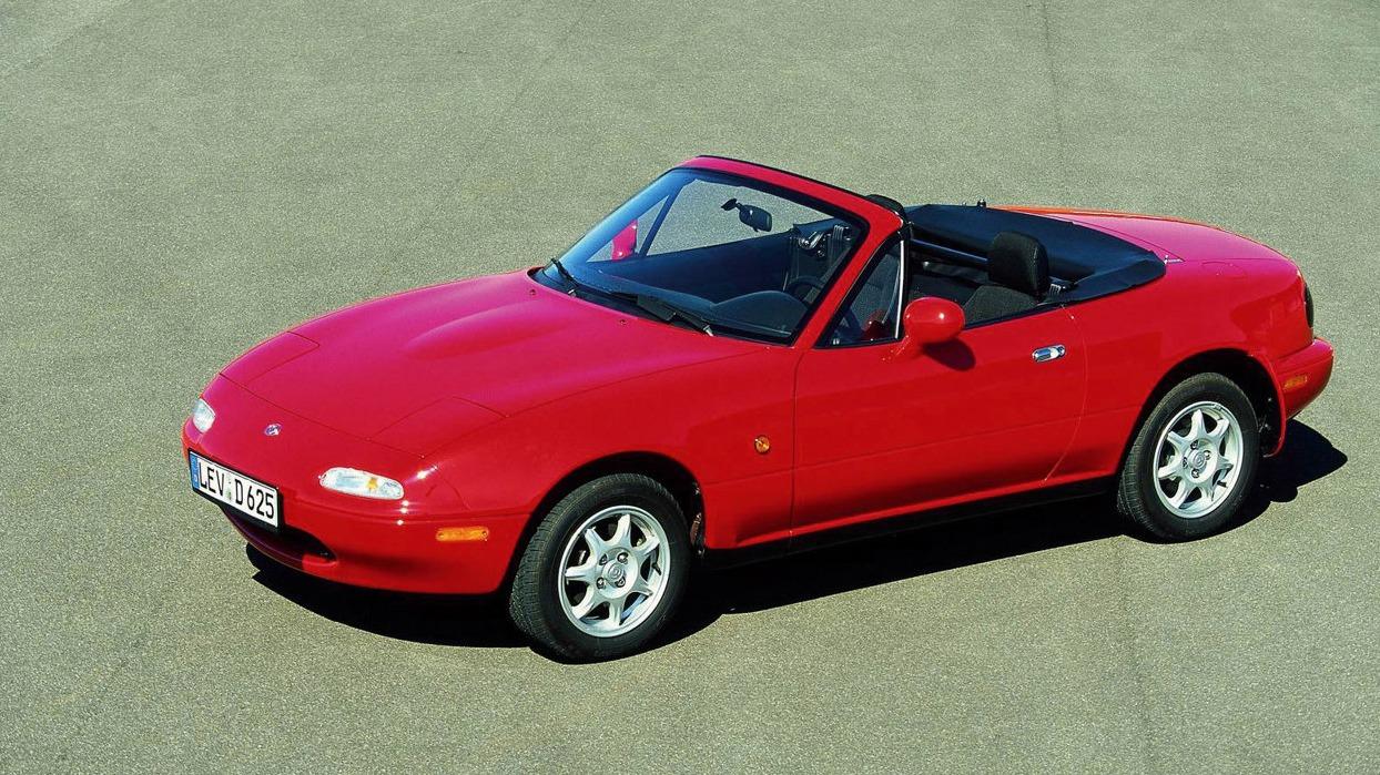 10 Sportsbiler på budsjett - Mazda MX-5