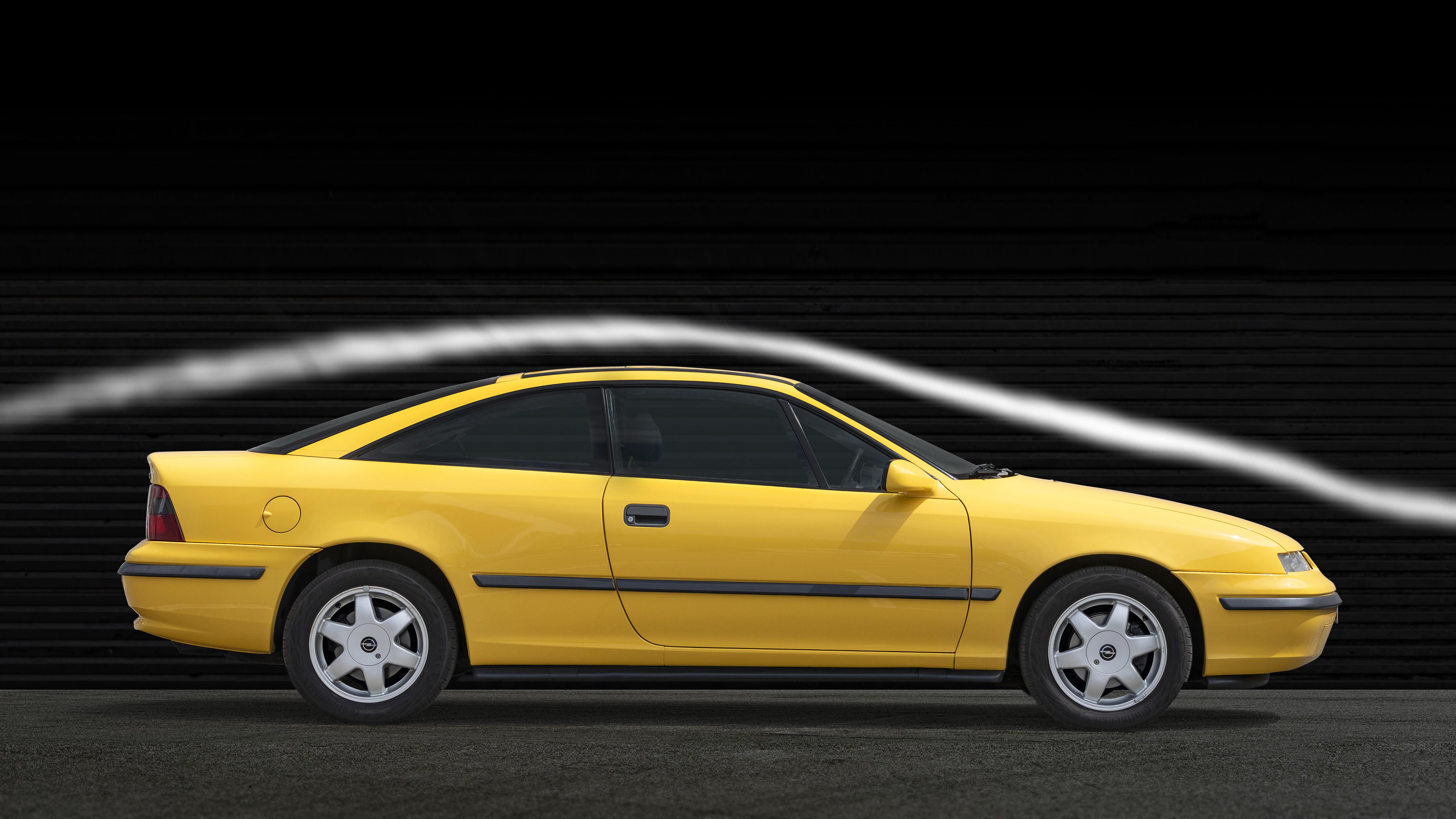 Forut for sin tid – Opel Calibra