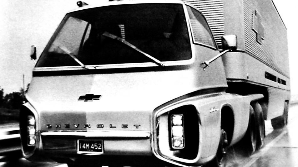 GMs Turbo-Titan III (1965) var en fullt fungerende gassturbin-truck.
