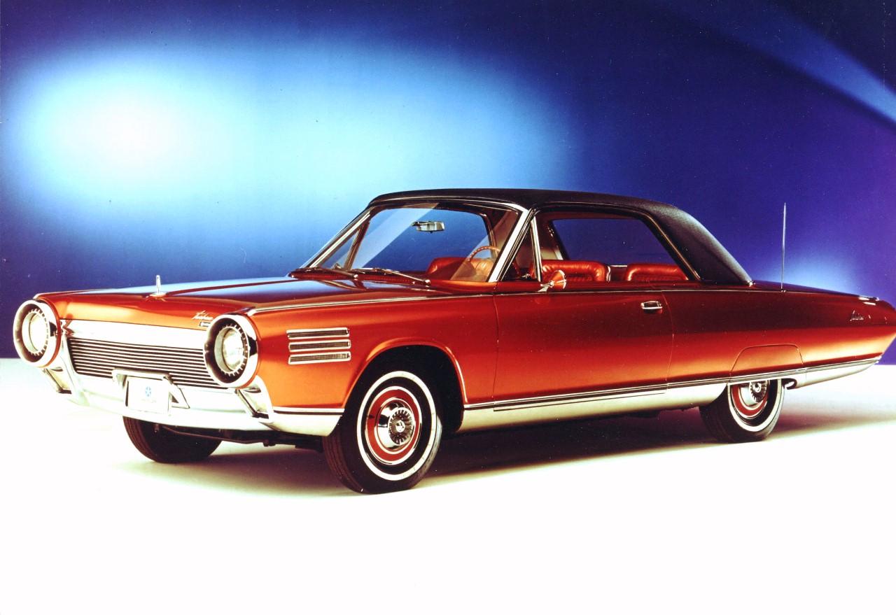 Chryslers turbinbil fra 1963 var en teknologisk åpenbaring, men designet skrått forfra var ganske forsiktig og tydelig Ford-inspirert.