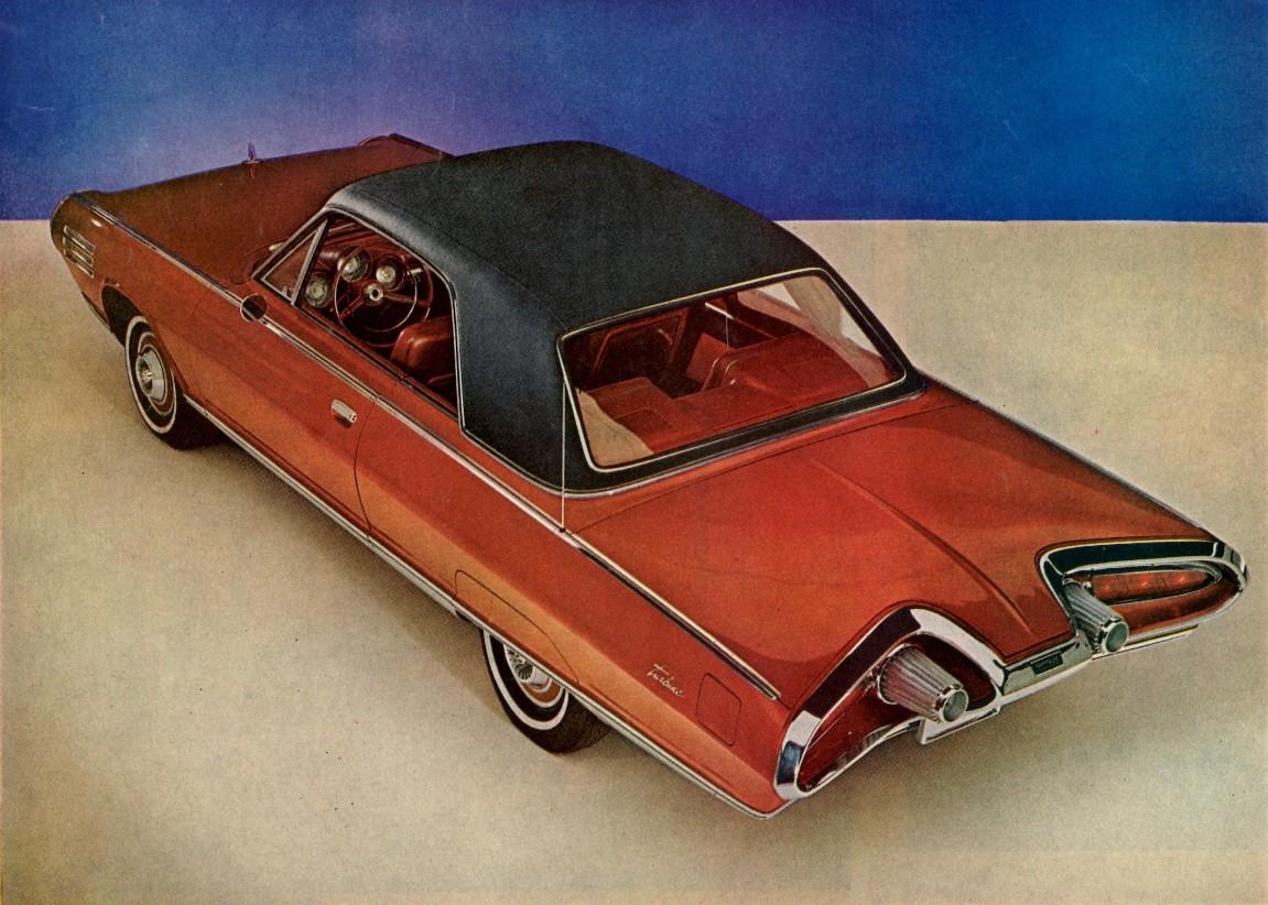 Chassiset på turbinbilen var standard Chrysler-hyllevare, mens karosseriet ble laget av Ghia i Italia.
