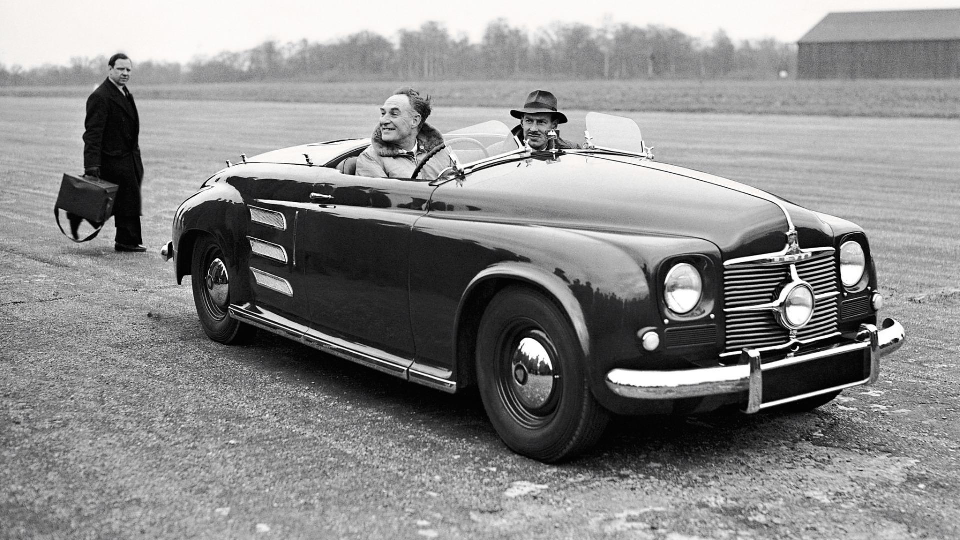 Rover skapte sensasjon da de bygde verdens første jetbil, Jet 1, i 1950.