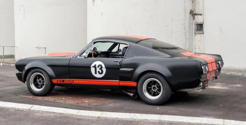 Bøllete Mustang