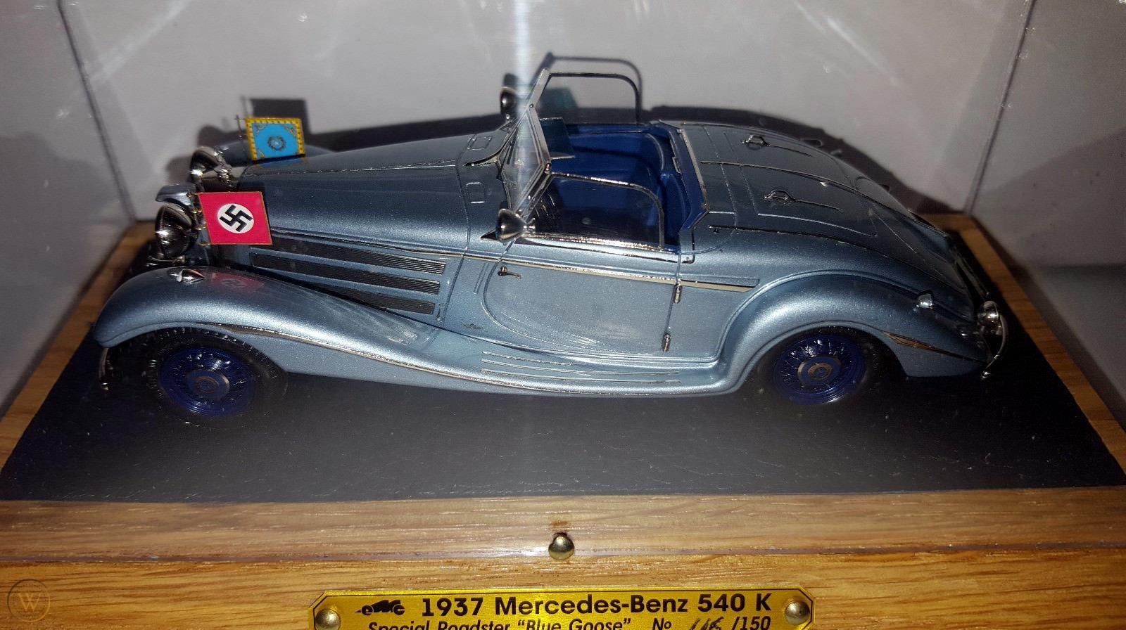 Modell av bilen i 1/43 skala. Foto: eBay.