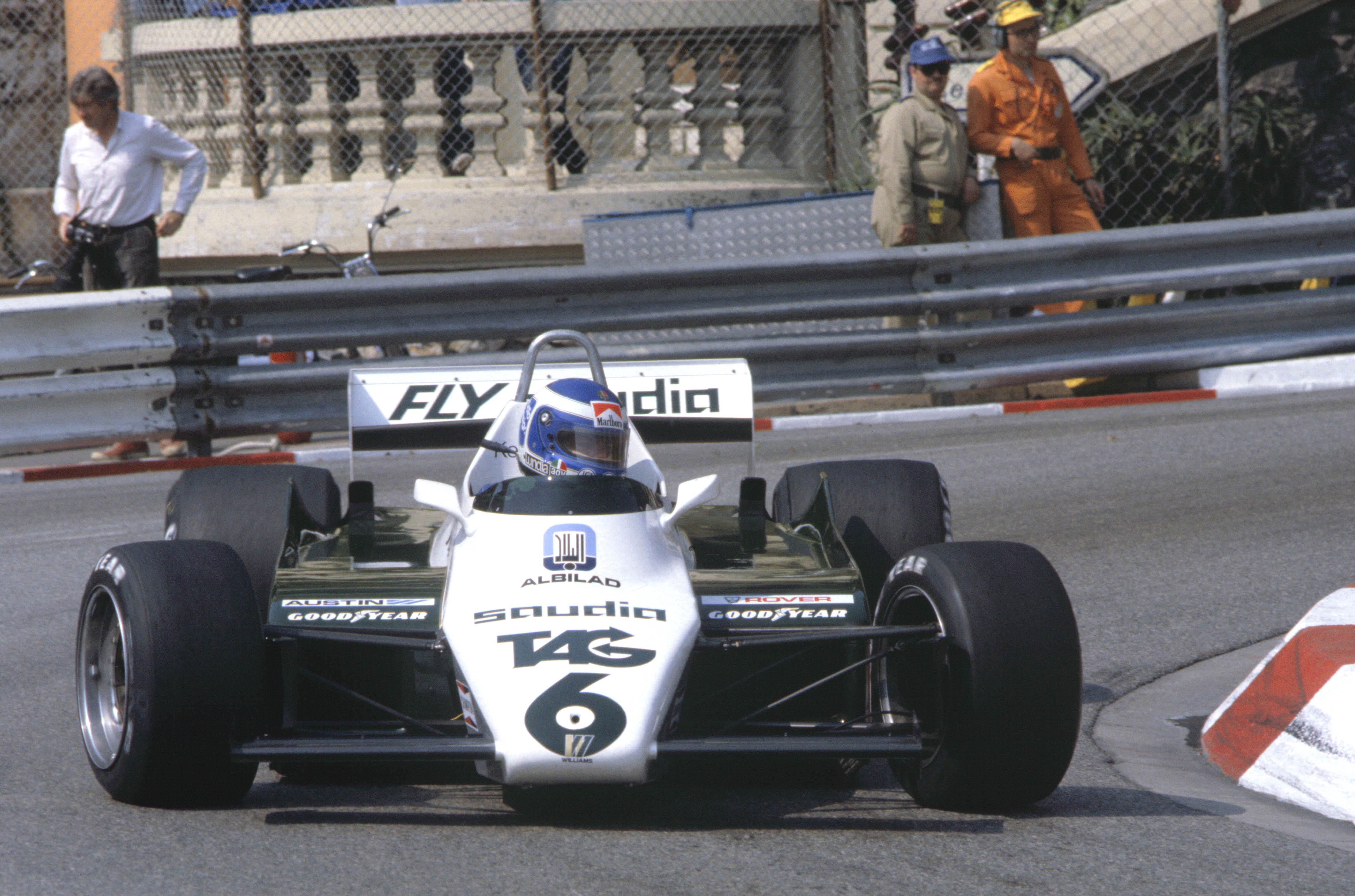 Keke Rosberg ble verdensmester i 1982 i sin Williams-Ford. Foto: Williams