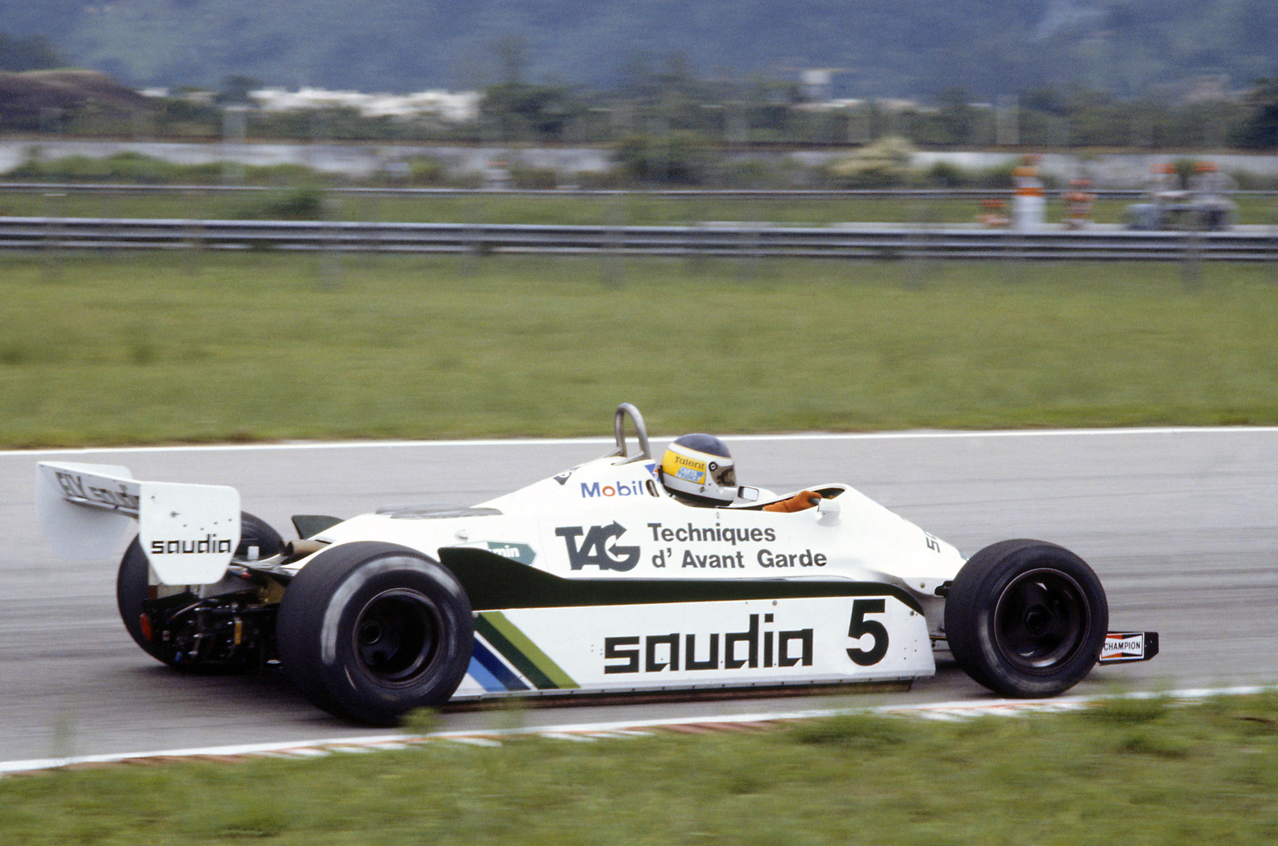 Et annet spennende «what if» når det gjelder 1982 dreier seg om Carlos Reutemann. Argentineren følte seg mistilpass hos et britisk team under Falklands-krigen, og la opp med umiddelbar virkning. Hva om han hadde ridd ut stormen? Hans lagkamerat Keke Rosberg endte opp som verdensmester. Foto: Williams