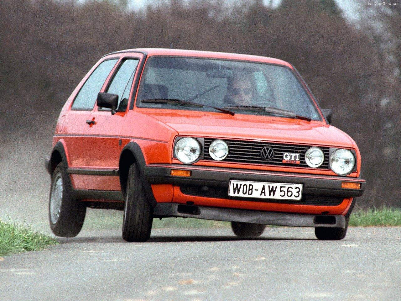 Topp 10 GTI-biler fra 80-tallet