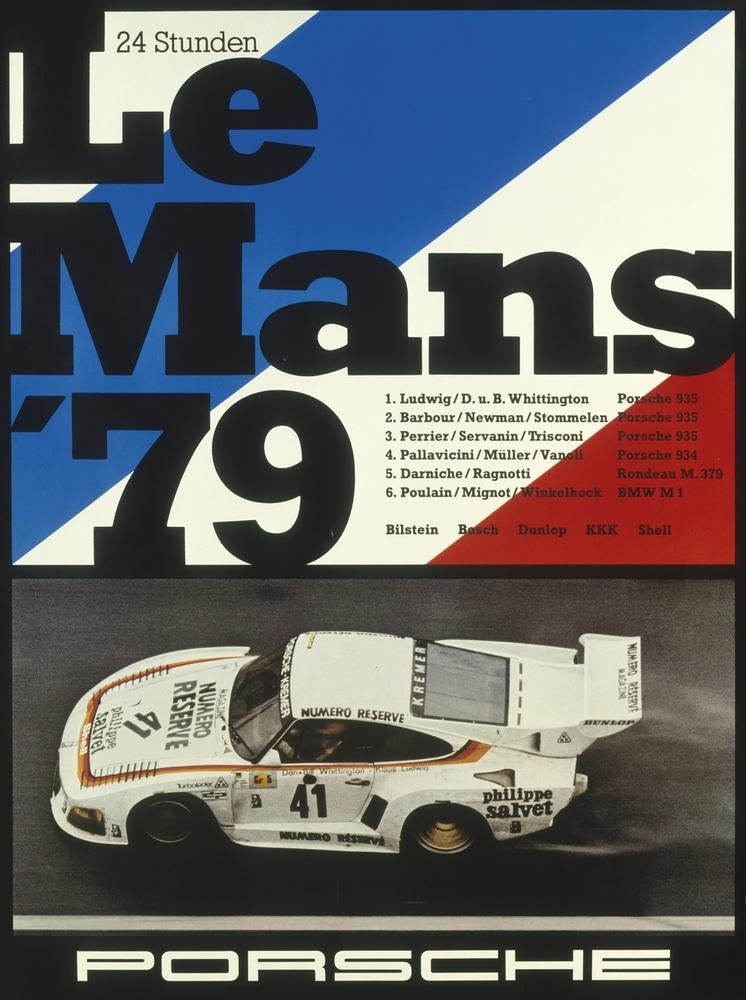 Den største triumfen av dem alle: Sammenlagtseier på Le Mans i 1979!