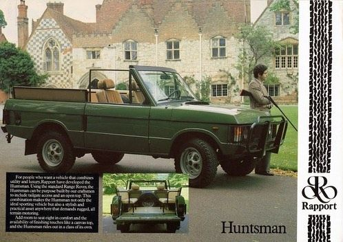 Rapport Huntsman